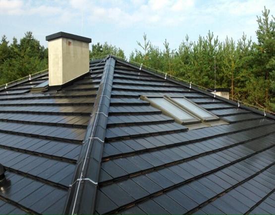 Zwody mocujące na dachu instalacje odgromowe